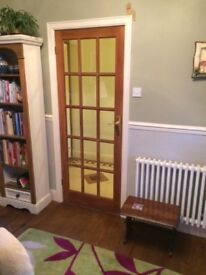 Light Oak Glazed Internal Door