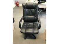 Black office chair - used