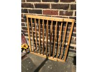 Lindam extending wooden safety gate £15