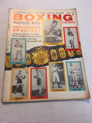 Vintage Boxing And Wrestling News Heavyweight Special Magazine   June 1962