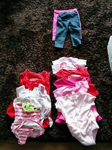 LARGE ASSORTMENT OF BABY GIRL CLOTHING