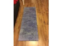 yoga mat by YogaBellies.