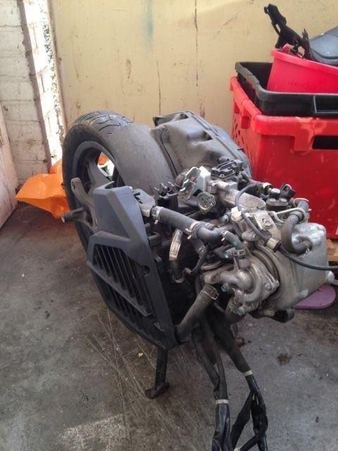 Honda pcx125cc engine low mileage new shape