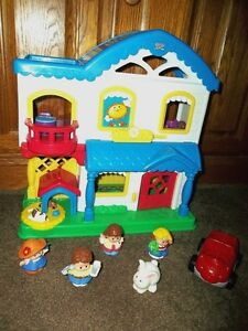 Fisher Price Little People Dollhouse or Sesame Street Doll House