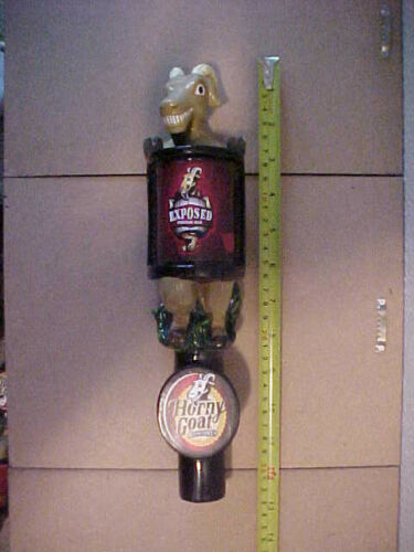 Horny Goat Brewing Co. Milwaukee WI Beer Tap Handle Marker Exposed Cream Ale