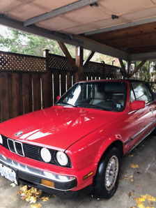 1989 BMW 325is convertible -original owner - $1,800 takes it!