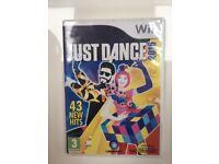 2016 Nintendo WiiU Just Dance game