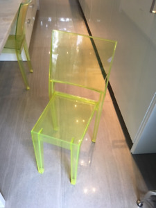 AUTHENTIC KARTELL La Marie Chairs (4) - Purchase as set