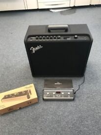 Fender Mustang GT100 with footswitch