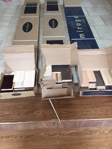 Three Boxes of Hardwood (all different) - 60 sq ft