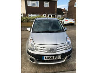Nissan Pixo 1.0 N-TEC 5 door hatchback Very reliable Very cheap to run Careful driver MUST SELL