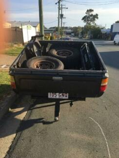 Hilux Dual Cab styleside tray