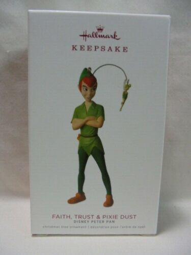 2018 Hallmark Keepsake Ornament PETER PAN FAITH & PIXIE DUST B11