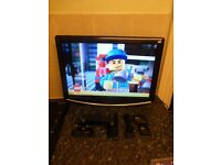 """LOGIK L22LID648 22"""" HD Ready LCD TV with BUILT-IN DVD PLAYER,NO REMOTE"""