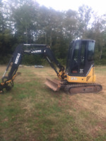 Mini Excavator For Rent Or Hire