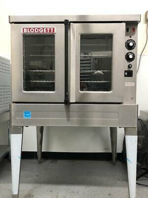 Blodgett Sho-100-e Single Deck Full Size Electric Convection Oven With Legs - 22