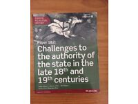 Edexcel AS/A Level History: Challenges to the authority of the state in the 18 & 19 century