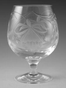 Royal-BRIERLEY-Crystal-FUCHSIA-Cut-Brandy-glass-4-3-4