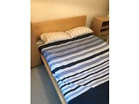 IKEA Malm Double bed frame & mattress - quick sale needed!
