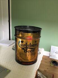 Carlsberg Beer cylinder