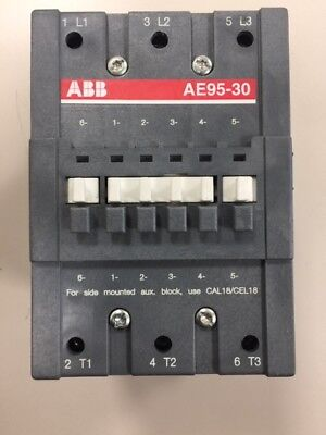 New Abb Ae95-30 Contactor 145 Amp 600v 75hp W Aux Contacts Ae95301183