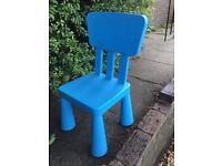 IKEA Kids Chair Blue