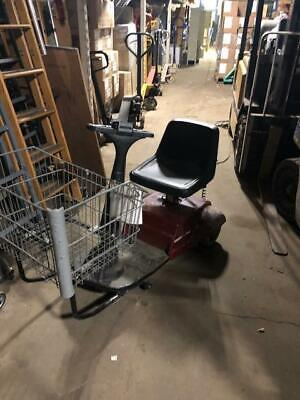 Amigo Electric Shopping Cart Scooter Motorized Used Store Fixtures Equipment