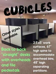 USED CUBICLES, DELIVERED and INSTALLED, SELECTION AVAILABLE