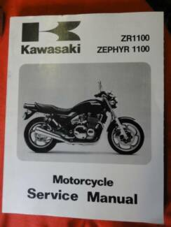 KAWASAKI FACTORY WORKSHOP SERVICE MANUAL FOR A ZEPHYR 1100, ZR110 Dianella Stirling Area Preview