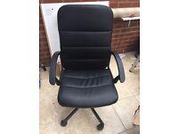 Swivel chair black