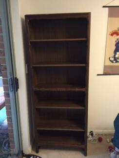 bookcase dark brown Hornsby Hornsby Area Preview