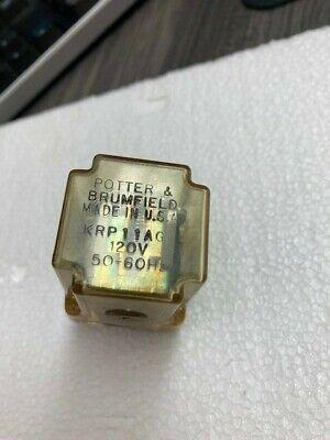 Potter Brumfield 8 Pin Relay 120v Krp11ag