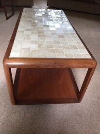 G PLAN Retro Coffee Table 1975