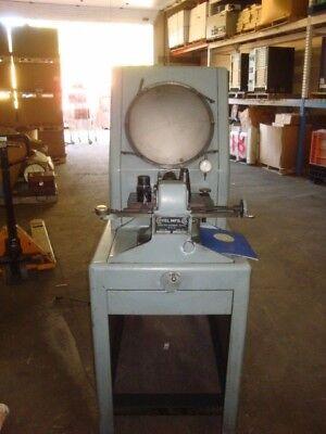 Covel Mfg. Co. Optical Comparator Model 14 Serial 14-558