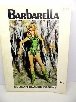 BARBARELLA by JEAN-CLAUDE - 1968 MOVIE COMIC PB BOOK - NEAR FINE CONDITION
