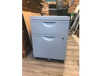 Grey IKEA filing cabinets qty 3