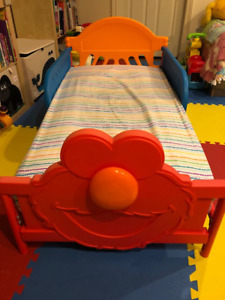 Elmo, Toddler Bed with mattress