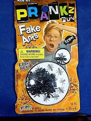 Fake Creepy Ants  Insects Prank Scary Trick Joke Gag Gift Halloween ](Creepy Halloween Pranks)