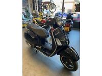 Piaggio Vespa GTS 300 Only 5062 miles One owner MINT!!!!