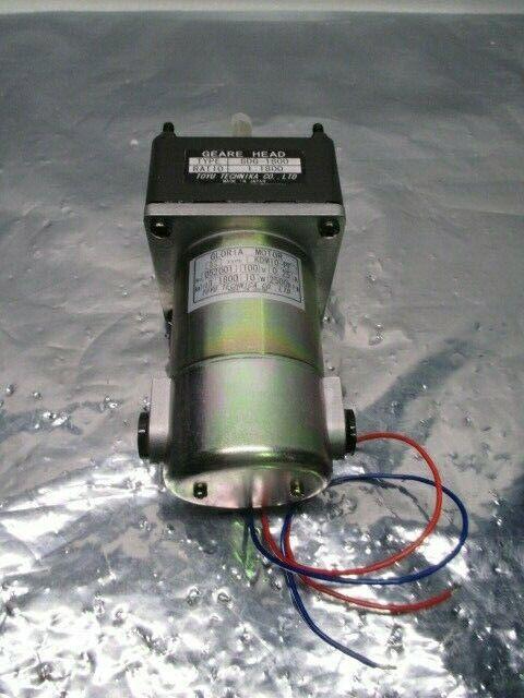 Toyu Technica KDM10-PF Gloria Motor + 8DG-1800 Geare Head, 1:1800 Ratio, 100433