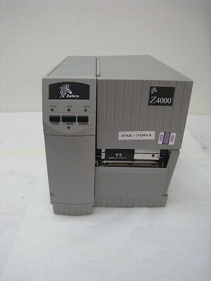 Zebra corp Z4000, Barcode printer with configuration 4001-101-0000