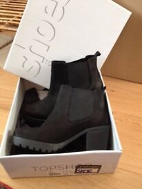 topshop boots - size 6 - worn once