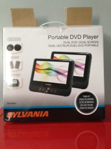 Two Portable DVD Players (LCD screens)