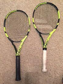 2016 , 2 Babolat Pure Aero Lite Tennis Racket - Grip 2