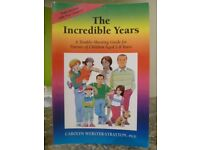The Incredible Years book – like new.
