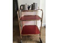 Vintage Drinks/Tea Trolley - Vintage