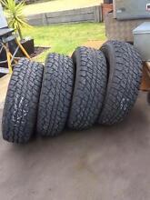 Dunlop Grantrek AT1 x 5 tyres Riddells Creek Macedon Ranges Preview