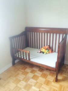 Convertible Crib/Bed and Dresser