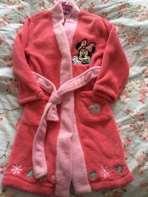 Minnie Mouse Dressing Gown NEW with tags Age 5-6 Years | in ...