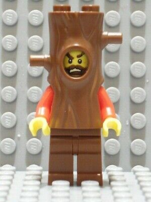 LEGO City Berg Polizei Gauner in Baumstamm Baum Kostüm 60174 - Gauner Kostüm